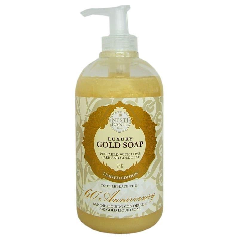 Nesti Dante Жидкое мыло Юбилейное золото Anniversary Gold Soap, 500 мл, Жидкое мыло Юбилейное золото Anniversary Gold Soap, 500 мл, 500 мл  недорого