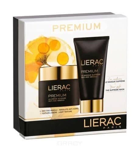 Lierac Набор Бархат Premium, Набор Бархат Premium, 50 + 75 мл lierac премиум маска с гиалуроновой кислотой 75 мл premium