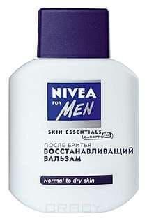 Nivea, Восcтанавливающий бальзам после бритья, 100 мл