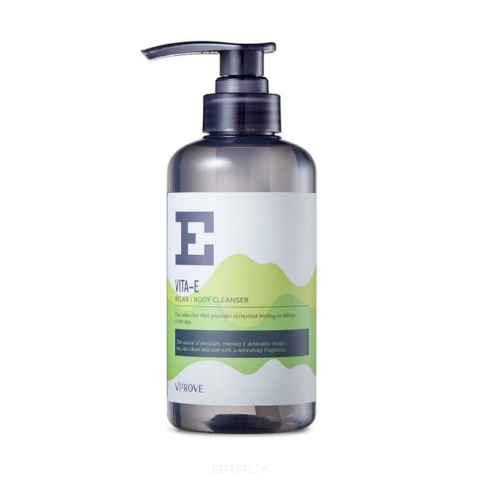 Купить Vprove - Очищающий гель для душа Вита Е Релакс , травяной Vita E Relax Body Cleanser, 400 мл