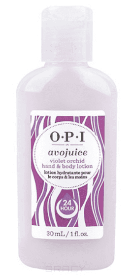 OPI Лосьон для рук Орхидея Avojuice, 600 мл opi лосьон для рук и тела opi avojuice skin quenchers spiced persimmon hand