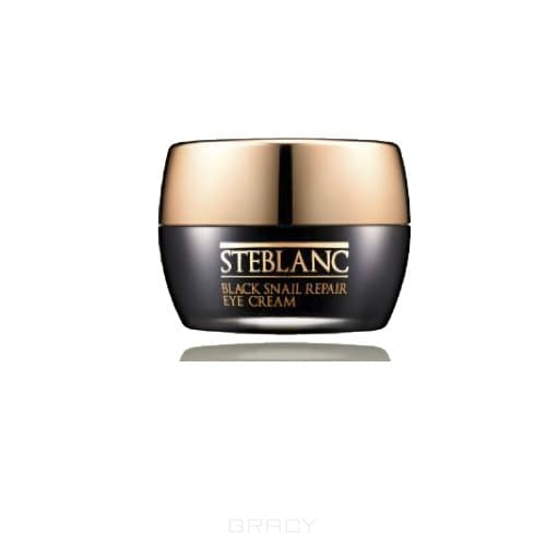 Steblanc - Крем для ухода за кожей вокруг глаз  восстанавливающий с муцином Черной улитки (80%) Black Snail, 30 мл STB_801BL