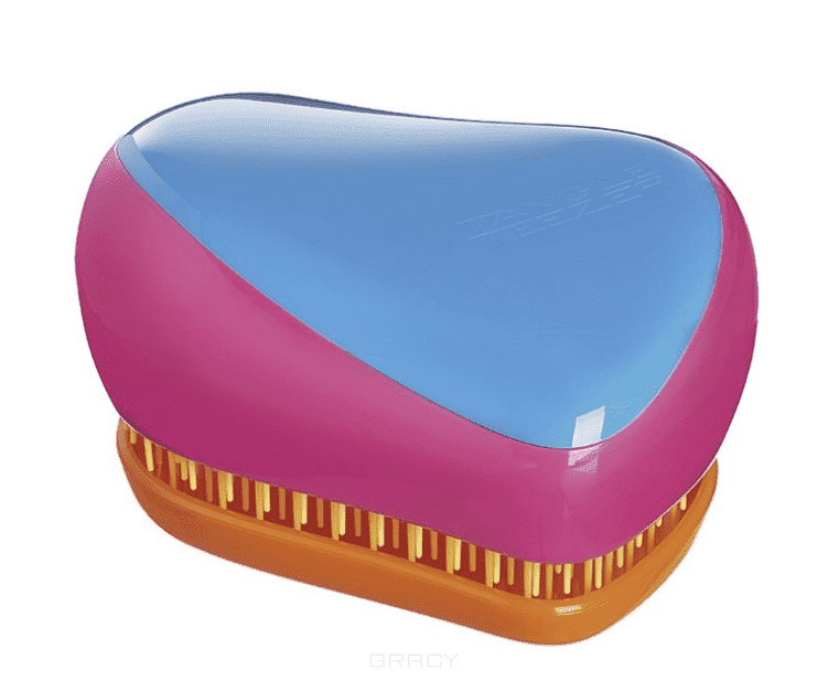 Tangle Teezer Расческа для волос Compact Styler Bright расческа tangle teezer compact styler hello kitty pink 1 шт