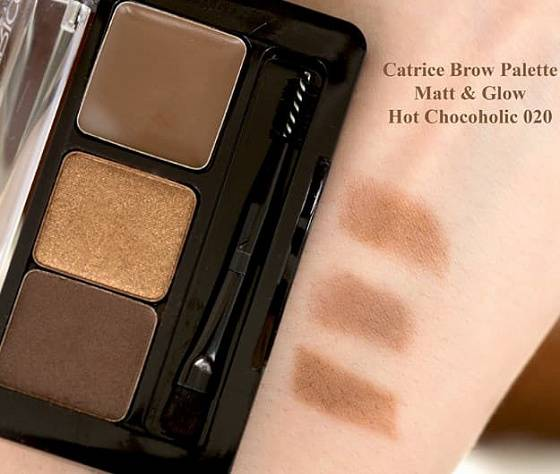 Картинки по запросу Catrice тени для бровей Brow palette matt&glow